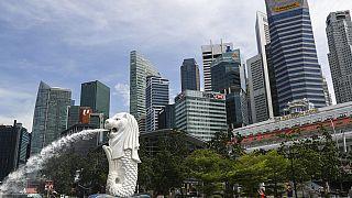 Szingapúr belvárosa