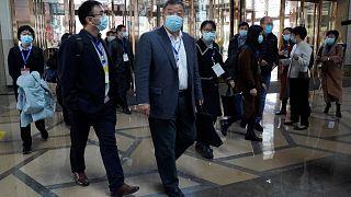 خبراء منظمة الصحة العالمية في ووهان- الصين.