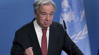 Ο γγ του ΟΗΕ Αντόνιο Γκουτέρες (φωτογραφία αρχείου)