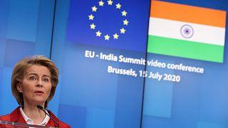 نشست اتحادیه اروپا و هند در ژوئیه سال گذشته میلادی