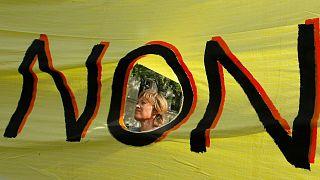 نه به خشونت علیه زنان در فرانسه