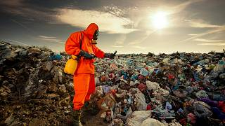 Trash mountains are being recycled into clothes in Russia