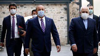 وزیران خارجه ایران و ترکیه