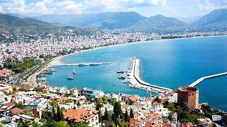 شهر ساحلی آلانیا ترکیه
