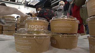Distribution alimentaire pour étudiants dans le XIIIe arrondissement de Paris
