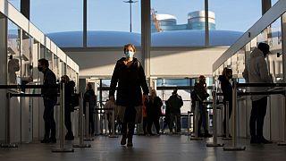 Hollanda'da bir havalimanı