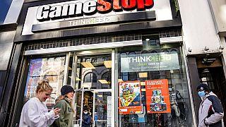 GameStop mağazası