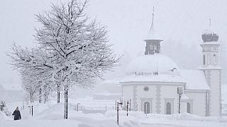 Viel Schnee in Seefeld in Tirol