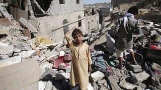 بمباران مناطق مختلف یمن از سوی ائتلاف عربی به رهبری عربستان- عکس آرشیوی