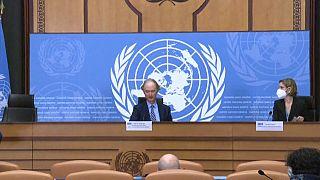 جلسة المحادثات التي أجريت هذا الأسبوع في جنيف حول الدستور السوري