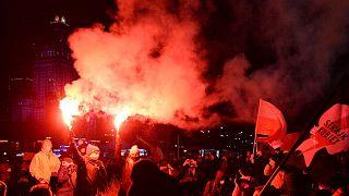 تظاهرات در لهستان برای حق سقط جنین