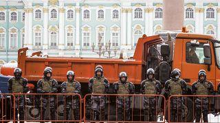 Hatalmas rendőri készültség Oroszországban
