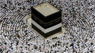 صورة أرشيفية للكعبة في مكة المكرمة