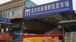 سوق ووهان في الصين