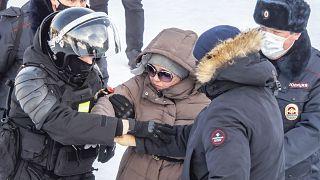 Újabb oroszországi tüntetések Navalnij mellett