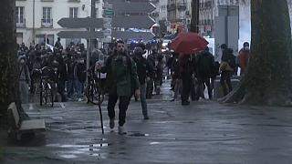 مظاهرات ضد قانون الأمن الشامل في فرنسا