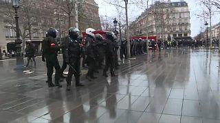 اعتراض به لایحه امنیتی در فرانسه