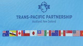 توقيع اتفاقية الشراكة عبر المحيط الهادئ في أوكلاند ، نيوزيلندا ، الخميس 4 فبراير 2016.