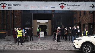 Corona-Impfzentrum in Berlin