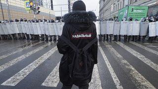 L'UE et les Etats-Unis condamnent la répression des manifestations pro-Navalny