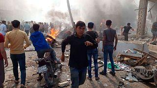 انفجار در الباب، شهر تحت کنترل ترکیه در شمال سوریه