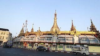 Myanmar am Montagmorgen nach dem Putsch