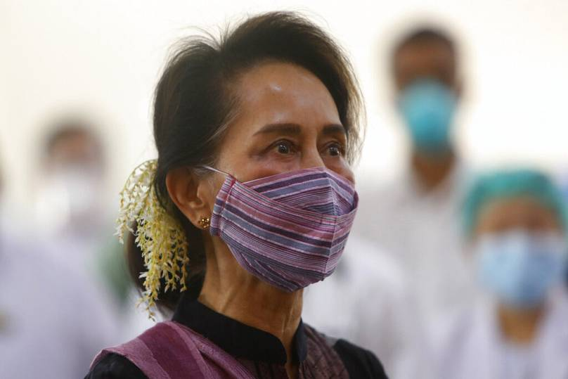 Aung Shine Oo/Copyright 2021 The Associated Press. All rights reserved.
