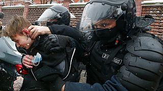 Rusia | Más de 5.000 detenidos y condenas internacionales