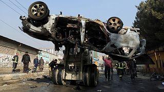 سلسله انفجارها در افغانستان