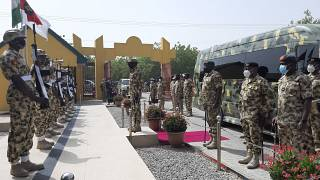 Nigeria's new army commander visits troops in Borno state