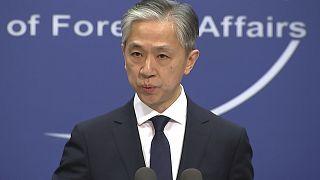 المتحدث باسم وزارة الخارجية الصينية وانغ ون بين
