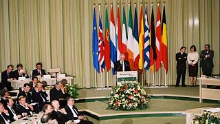 Maastrich Antlaşması imza töreninden