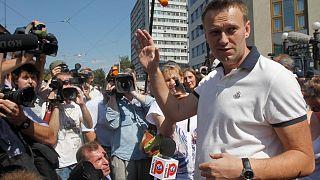 الکسی ناوالنی رهبر مخالفان در روسیه