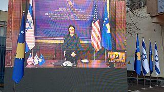 Kosova Dışişleri ve Diaspora Bakanı Meliza Haradinaj-Stublla