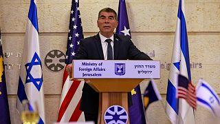 وزير الخارجية الإسرائيلي غابي أشكينازي