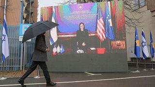برگزاری مراسم مجازی امضای سند عادی سازی رابطه کوزوو و اسرائیل