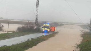 Hochwasser in Nordgriechenland
