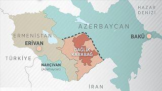 Dağlık Karabağ haritası