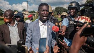 Uganda's Bobi Wine briefly arrested for protest