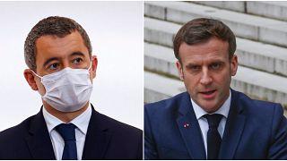 Fransa Cumhurbaşkanı Emmanuel Macron (sağda) söz konusu tüzüğü 18 Ocak'ta sunmuştu.
