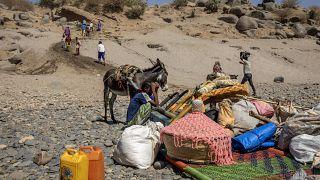 Πρόσφυγες στην Αιθιοπία