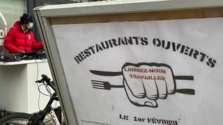 «Κίνημα» Γάλλων εστιατόρων κατά των περιοριστικών μέτρων