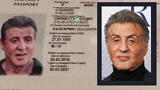 The counterfeiters had been marketing their forged documents using a picture of Hollywood actor Sylvester Stallone