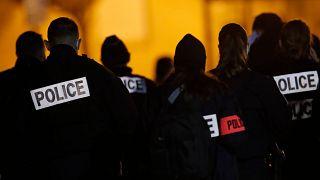 File photo of police in France