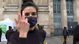 نمایش اعتراضی به «خفگی آرام فرهنگی» در خیابانهای پاریس