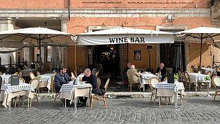 Il solo ristorante aperto nella storica Piazza Navona a Roma