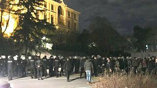 Polis Boğaziçi Üniversitesi'ne girdi