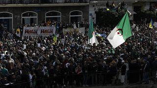 مظاهرة في العاصمة الجزائرية