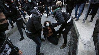 Boğaziçi Üniversitesi'nde rektör protestolarında 159 öğrenci gözaltına alındı.