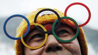 خلال الألعاب الأولمبية الشتوية في كوريا الجنوبية عام 2018